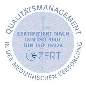 Siegel Qualitätsmanagement in der Medizin