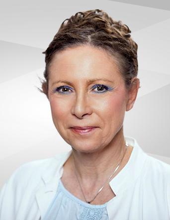 Dermatologin Anne Schieber